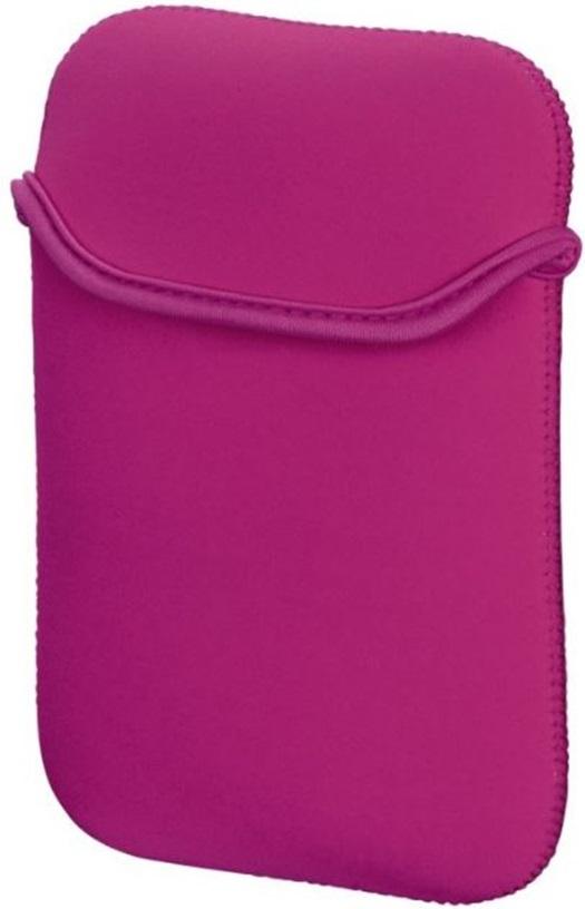 Omkeerbare neopreen hoes voor ereader tolino shine zwart/roze