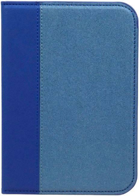 Etui luxe déco bleu pour e-reader Shine 2 HD