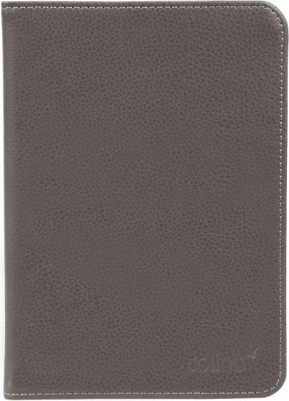 Etui cuir gris pour e-reader Shine 2 HD