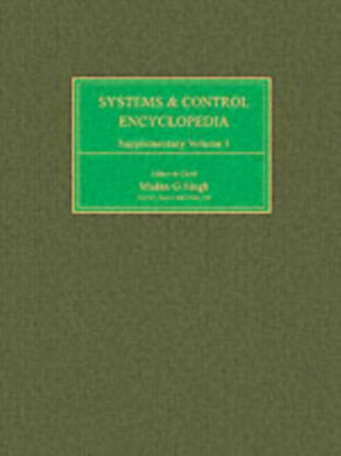 Systems and Control Encyclopedia Supplementary
