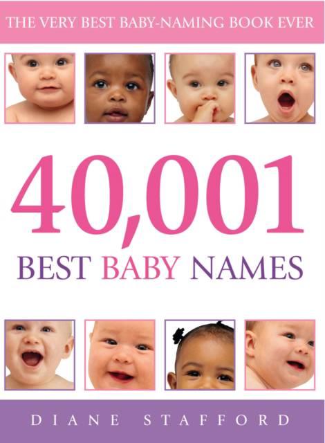 40, 001 Best Baby Names