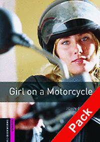Oxford Bookworms Library: Starter Level:: Girl on a Motorcycle audio CD pack