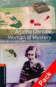 Oxford Bookworms Library: Level 2:: Agatha Christie, Woman of Mystery audio CD pack