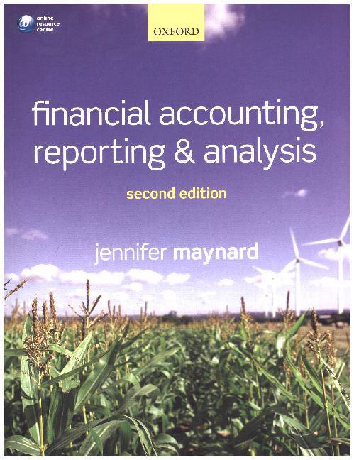 Financial Accounting, Reporting, and Analysis