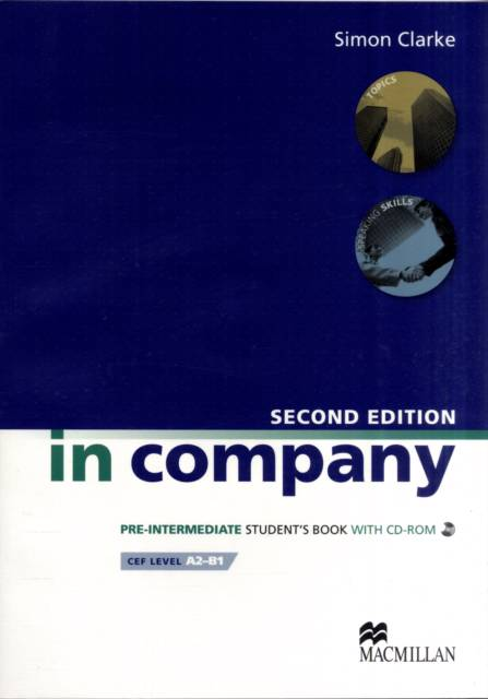 In Company Student s Book CD-ROM Pack Pre-intermediate Level