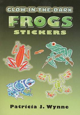 Glow-in-the-Dark Frogs Stickers