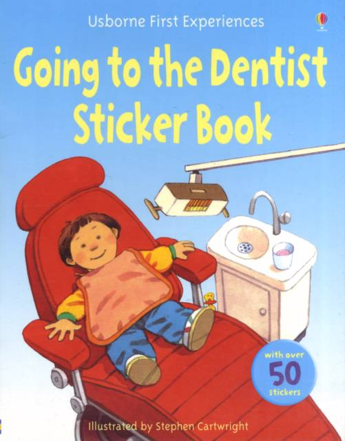 Usborne First Experiences Going to the Dentist Sticker Book