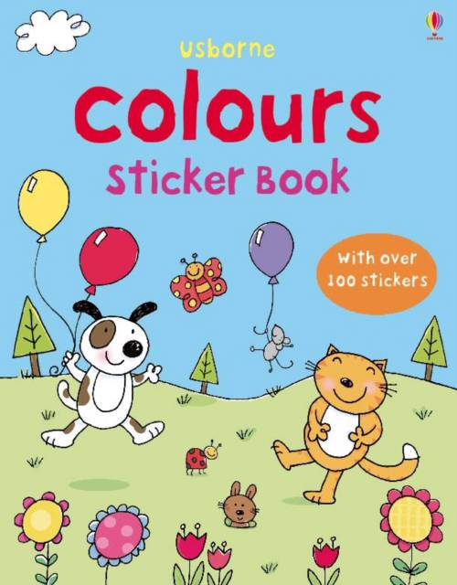 First Sticker Book Colours
