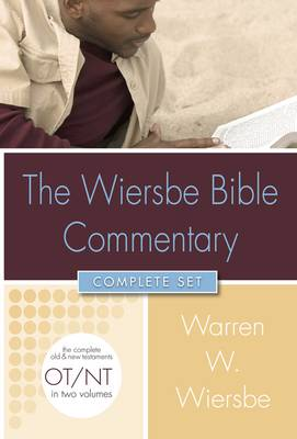 Wiersbe Bible Commentary Complete Set