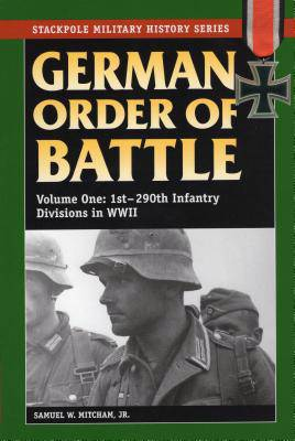 German Order of Battle, Vol. 1