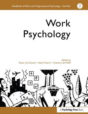 Handbook of Work and Organizational Psychology