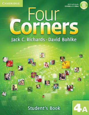 Four Corners Level 4 Student's Book A with Self-study CD-ROM and Online Workbook A Pack