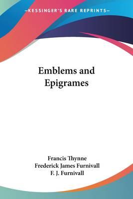 Emblems and Epigrames
