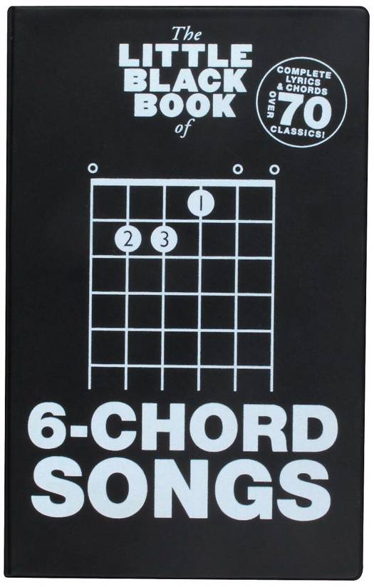Little Black Book of 6-Chord Songs