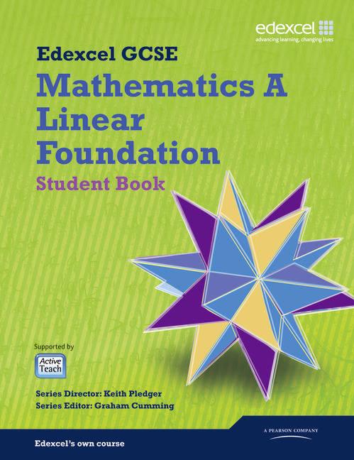 GCSE Mathematics Edexcel 2010: Spec A Foundation Student Book