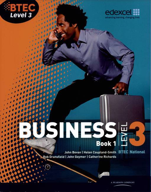 BTEC Level 3 National Business Student Book 1