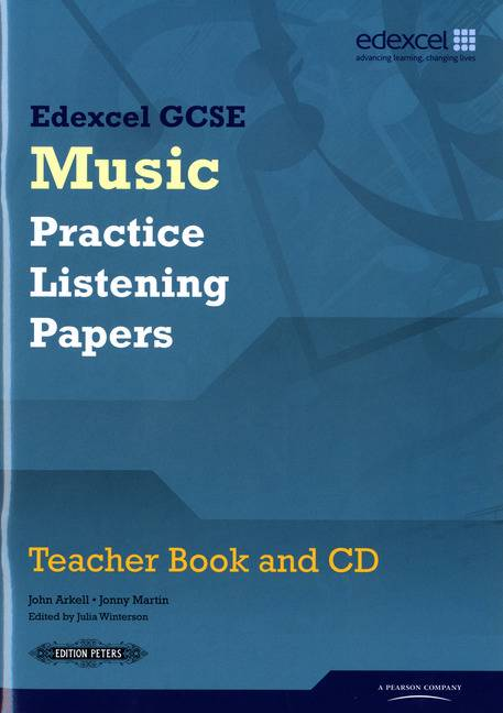 Edexcel GCSE Music Practice Listening Papers Teacher book and CD