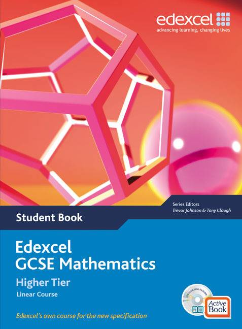 Edexcel GCSE Maths 2006: Linear Higher Student Book and Active Book with CDROM