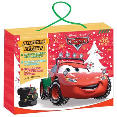 Cars ; Valisette ; Vive Noël