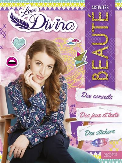 Love Divina ; Love Divina ; Spécial Beauté Livre D'activités