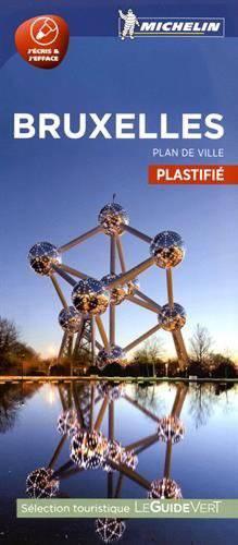 Bruxelles - Plan De Ville Plastifie