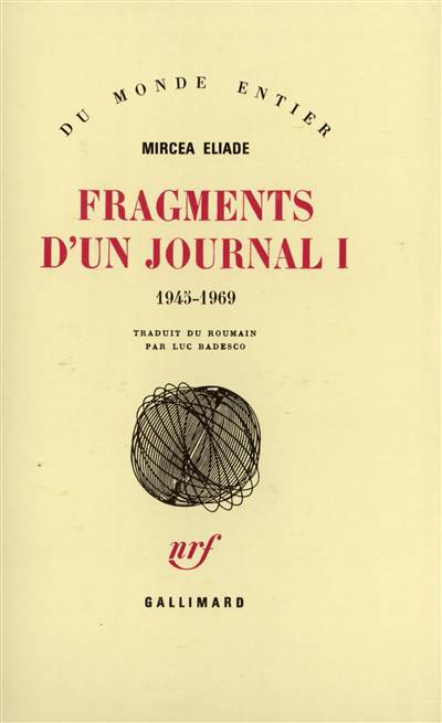 Fragments D'un Journal (1945-1969) T1