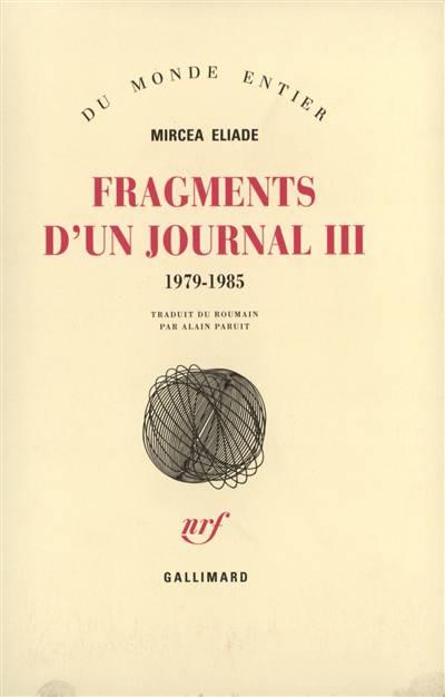 Fragments D'un Journal T3