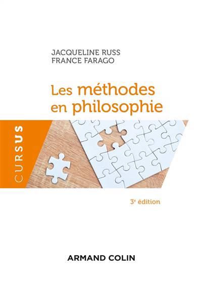 Les Méthodes En Philosophie (3e édition)