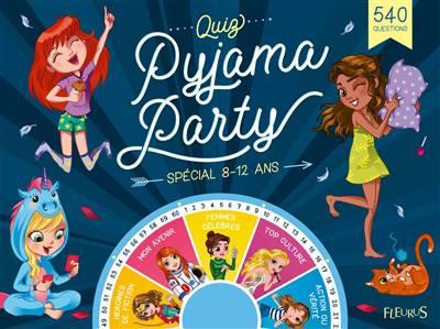 Quiz Et Défis ; Pyjama Party