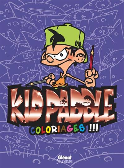 Kid Paddle ; Coloriages !!!