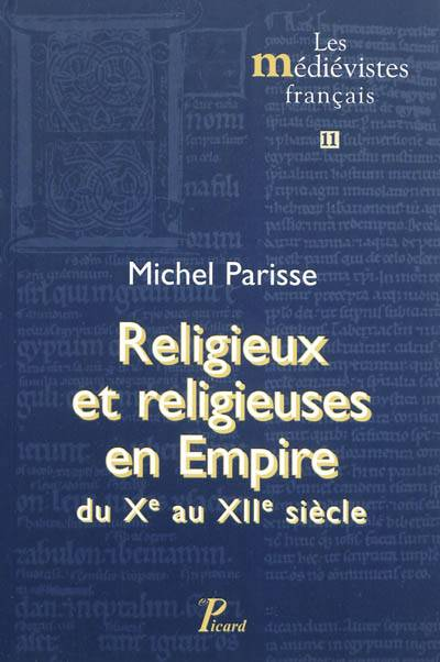 Moines Et Religieuses Du X Au Xii Siècle
