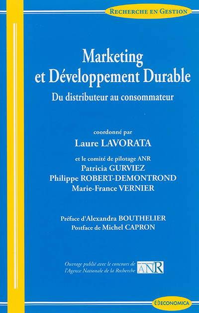 Marketing Et Developpement Durable - Du Distributeur Au Consommateur