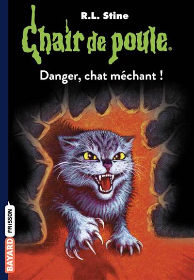 Chair De Poule T.45 ; Danger Chat Méchant