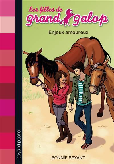 Les Filles De Grand Galop T.12 ; Enjeux Amoureux