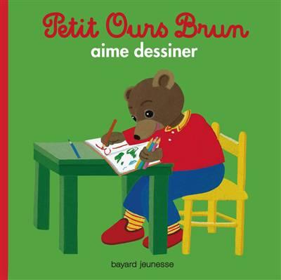 Petit Ours Brun Aime Dessiner
