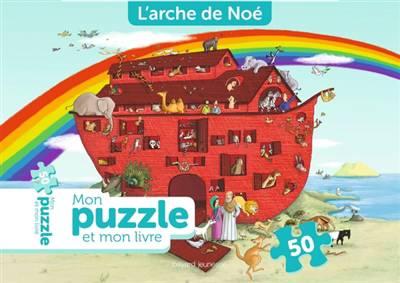 Mon Puzzle Et Mon Livre L'arche De Noe