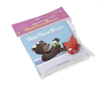 Les Livres-bain Petit Ours Brun ; C'est L'heure Du Bain !