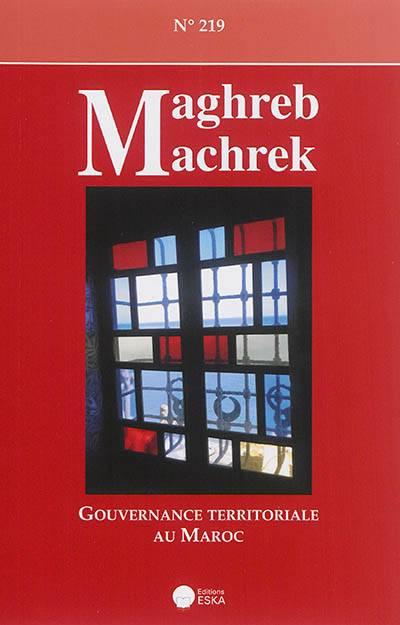Revue Maghreb Machrek N.219 ; Maroc