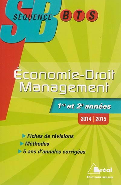 Sequence Bts ; économie, Droit, Management