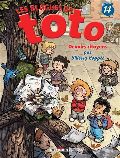 Les Blagues De Toto T.14 ; Devoirs Citoyens