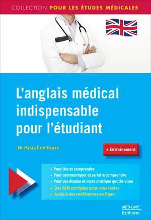 L'anglais Medical Indispensable Pour L'etudiant