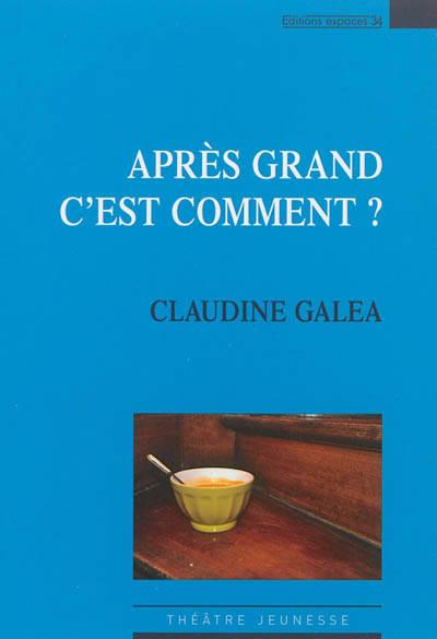 Apres Grand Cest Comment Standaard Boekhandel