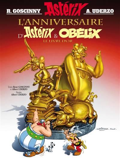 Astérix T.34 ; L'anniversaire D'astérix Et Obélix ; Le Livre D'or