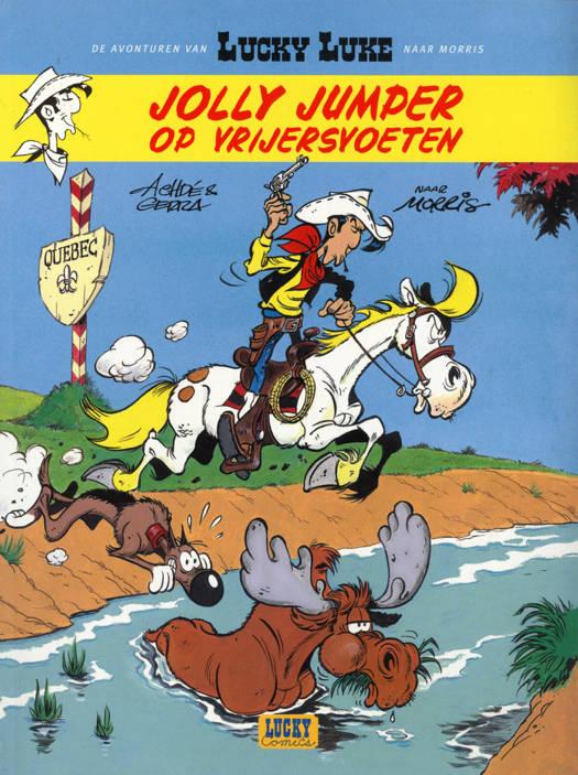 Lucky Luke (nieuwe Avonturen) T1 Jolly Jumper Op Vrijersvoeten