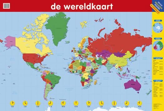 Educatieve posters de wereldkaart standaard boekhandel thecheapjerseys Images