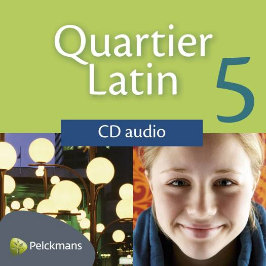 Quartier Latin 5 audio-cd