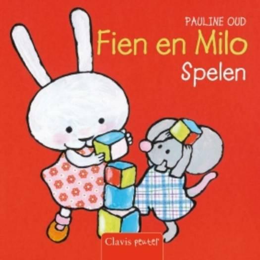 Fien en Milo spelen