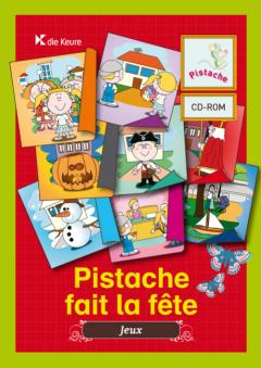 PISTACHE FAIT LA FETE - CD-ROM VERHAALTJES EN SPELLETJES