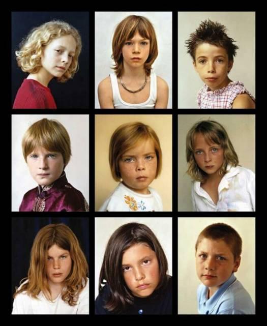Jongens en meisjes - Set van jongens en meisjes ...