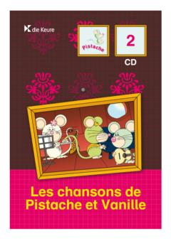 LA VALISE DE PISTACHE 2 - LIEDJES-CD